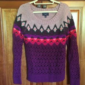 Small American Eagle Multicolored Sweater
